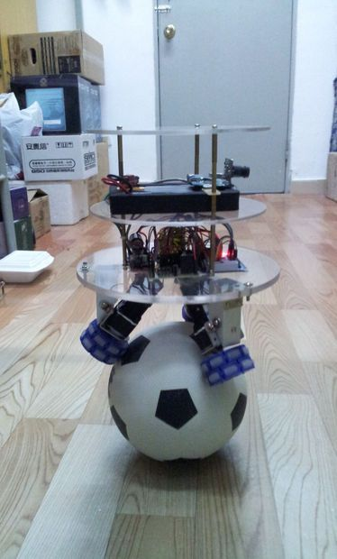 Picture of How to make a Ball Balancing Robot