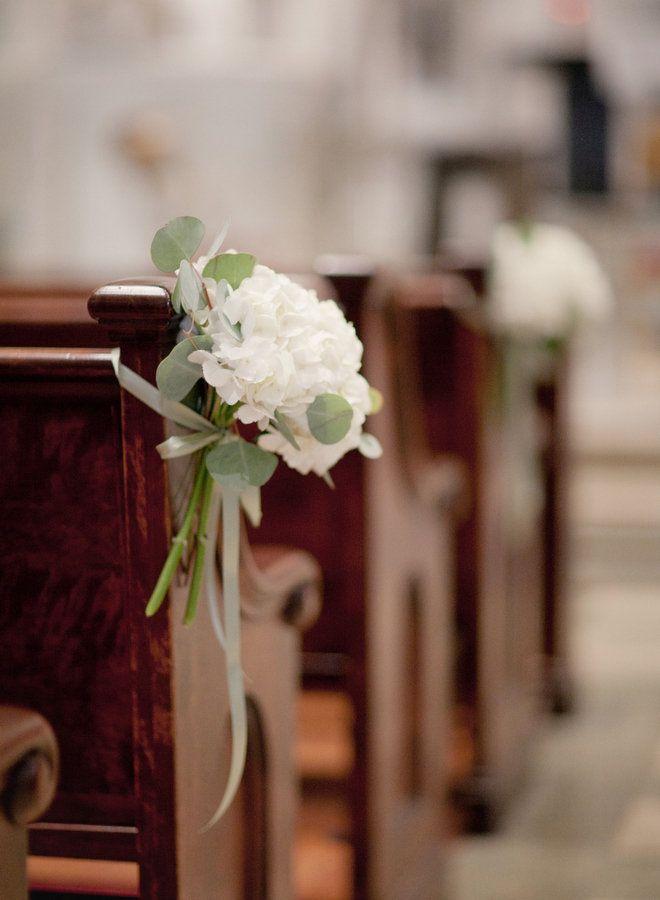 ceremonia flores decoración iglesia