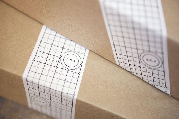 Logo and tape design by Lundgren+Lindqvist for Swedish bespoke furniture designer and manufacturer Sebastian C. Johansson