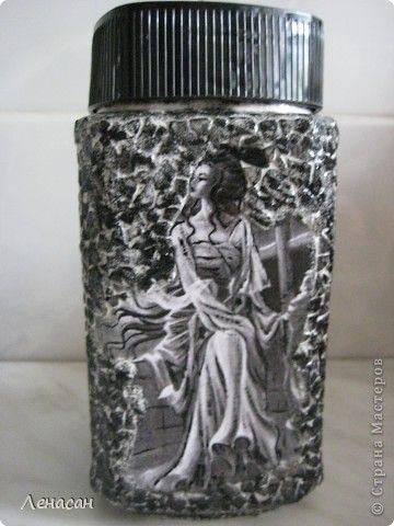 Чрно-белые кофейные банки