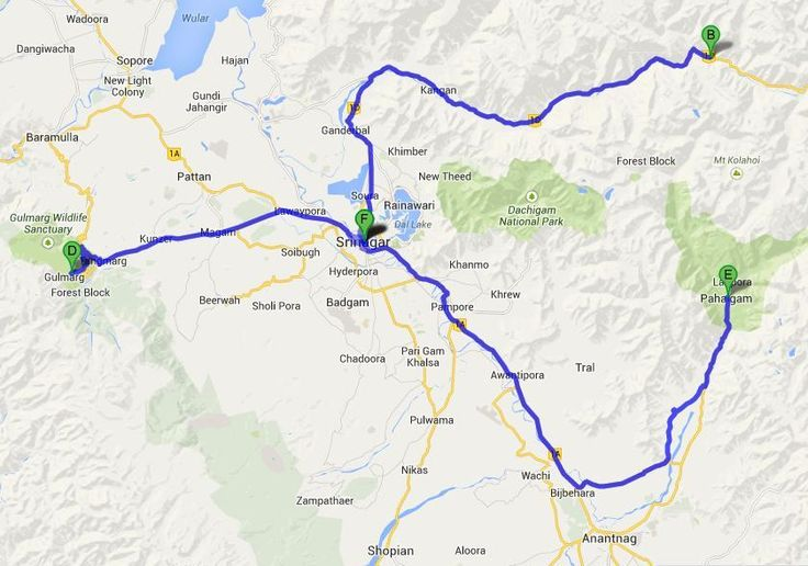 Srinagar Gulmarg   Kashmir Tour, 7 Days Glimpses of Kashmir Tour