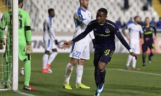Ademola Lookman sets sights on Merseyside derby success