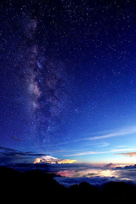 Mt. Hohuan, in Taiwan 合歡山夜景