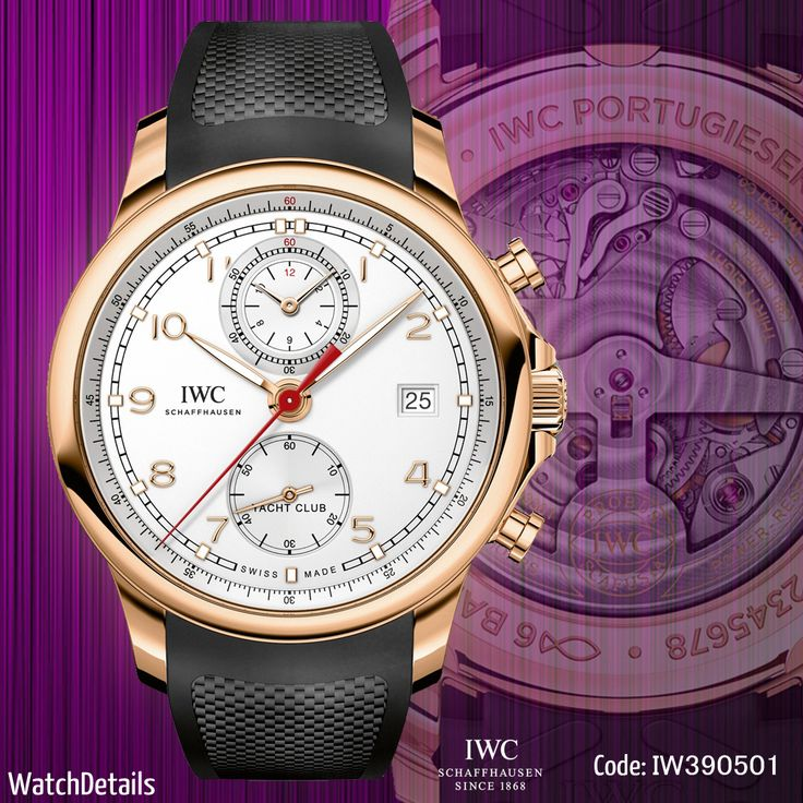 Read more http://www.watchdetails.com/2015/01/watches-sports-portugieser-yacht-club.html Watches Sports Portugieser Yacht Club Chronograph Iw390501 #fashion #style #watches #watch #sports
