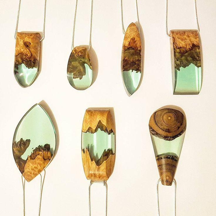 7 new pendants available in our Etsy shop. ArtfulResin.etsy.com . Zero bubbles…
