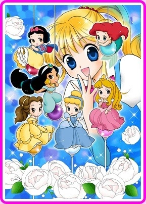 Kilala princess. Was a very cute manga. I had a dream about it before I ever read it and it was so similar to my dream I was astonished.