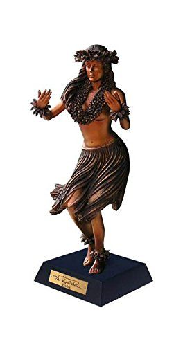 Aloha Hula Dancer Statue  Kim Taylor Reece  ktr696933142025 * Check out the image by visiting the link. Note: It's an affiliate link to Amazon.