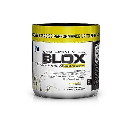 Blox Lemonade - 0.46 lbs - Powder by BPI. $25.85. Blox Lemonade 0.46 lbs Powder   SAAs (Silk Amino Acids) are a remarkable and innovative Amino Acid Sequence just recently discovered by a bold team of scientists. You see, SAAs are a chain of eighteen plus particular amino acids - but, its not so much the eighteen that researchers found to be of greatest import  its five - yes, five - in a precise sequence and precise ratio that matter And, when these five SAAs are in this precise...