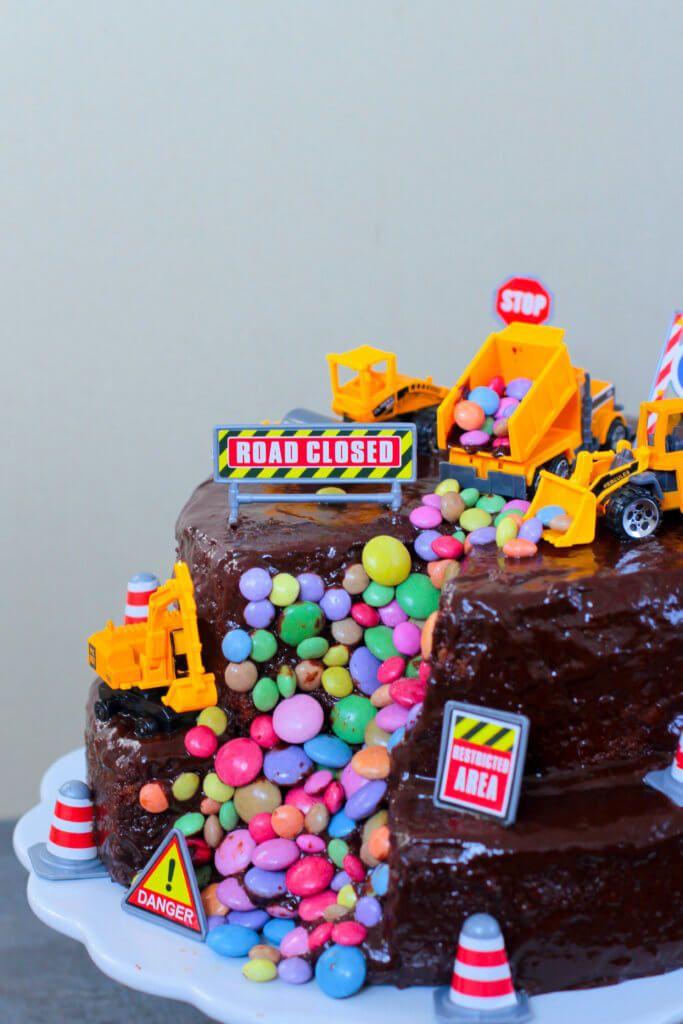Bagger Torte Geburtstag Torte Junge Kinder Geburtstag Torte Und