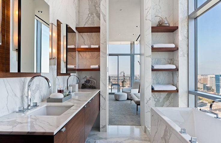 25 moderne Badezimmer Ideen für einen sauberen Look