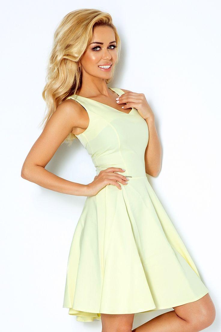 Letné šaty Summer dress yelow