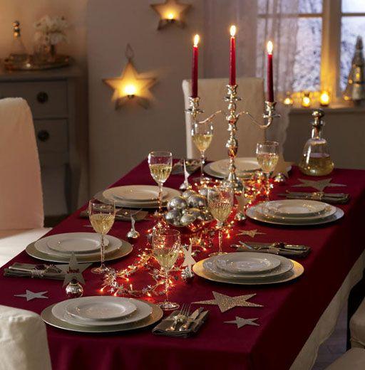 Meer dan 1000 idee u00ebn over Kerst Tafel Decoraties op Pinterest   Kerstmis, Kerst Tabel