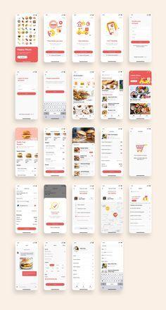 Happy Meals Food Delivery App UI Kit