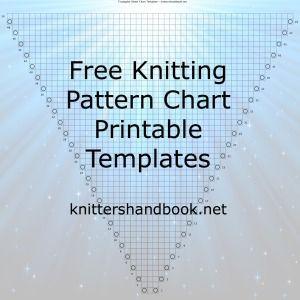 Ingyenes Knitting Minta kör nyomtatható sablonok: