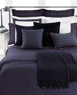 Lauren Ralph Lauren Bedding Navy Glen Plaid Suite