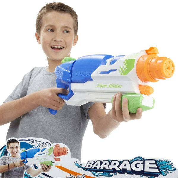 Pistola de agua Super Soaker Nerf
