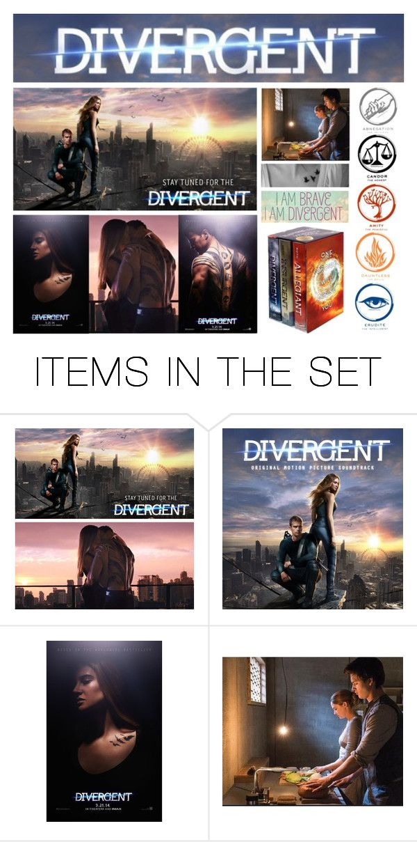 """""""Divergent"""" by selenamarie318 ❤ liked on Polyvore featuring art, divergent, dauntless and tris"""