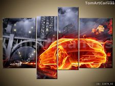 NEW 4 PCS CANVAS PRINT WALL ART PICTURE DECOR FRAME 130x85cm Ready for a wall
