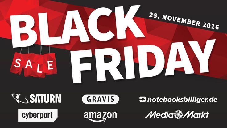 Black Friday 2016 in Deutschland: Übersicht der Angebote von Apple, Amazon, Media Markt und Co.
