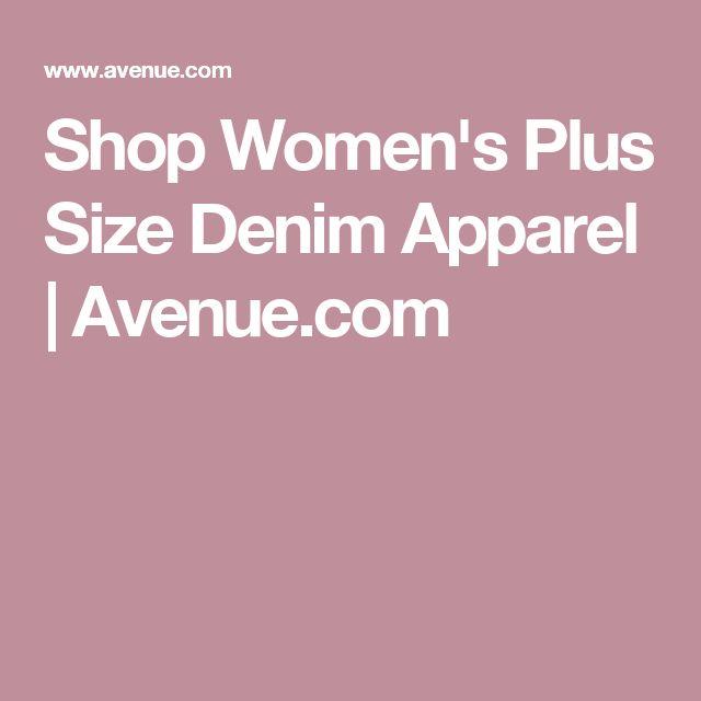 Shop Women's Plus Size Denim Apparel | Avenue.com