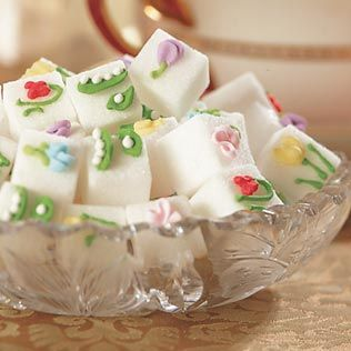 Cute sugar cubes