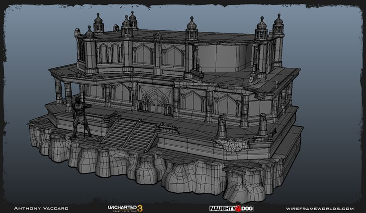 Uncharted 3 - Environment Art Dump - Anthony Vaccaro - Page 4 - Polycount Forum