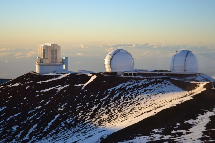 Why are there observatories on top of a ice- and snow-covered volcano in Hawaii? Because the air is dust-free and clear, giving astronomers the best chance to detect signals from distant planets.