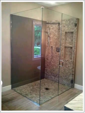 Attractive Ames Glass And Mirror, Gorgeous Shower Door.
