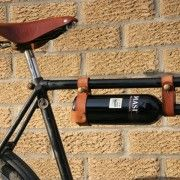Wine holder for bike, a must have!
