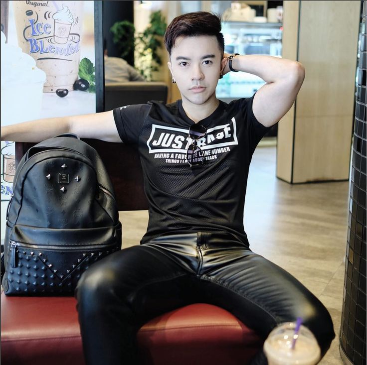 Guys In Leather Pants  Second Skin In 2019  Leather -3672