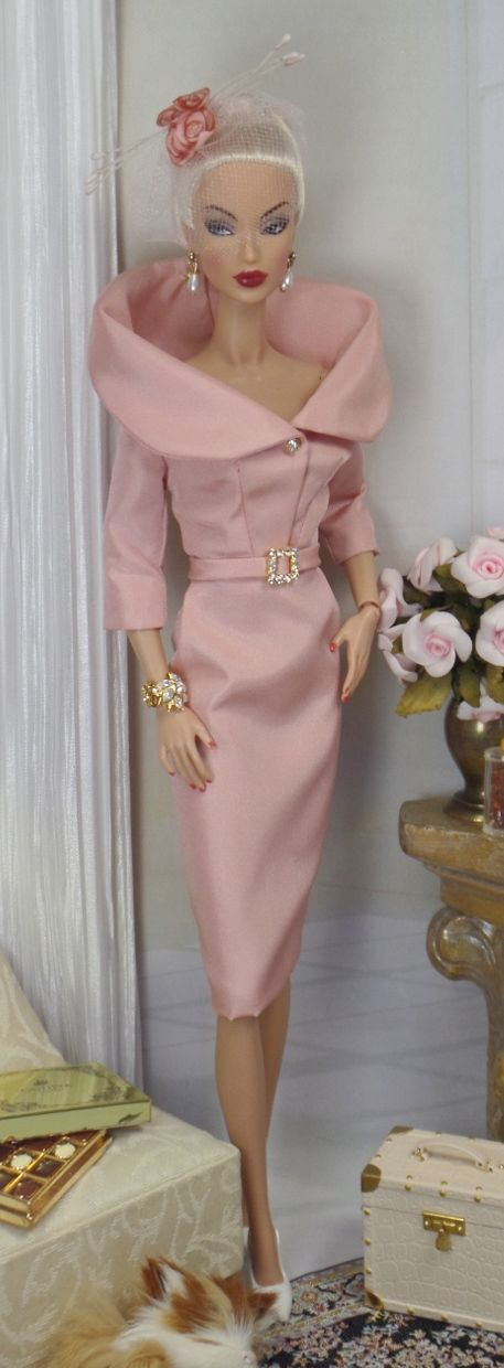 The Rose for Silkstone Barbie and Victoire Roux | Matisse Fashions