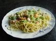 Vårlig skaldjurspasta (matklubben.se matens wikipedia:)