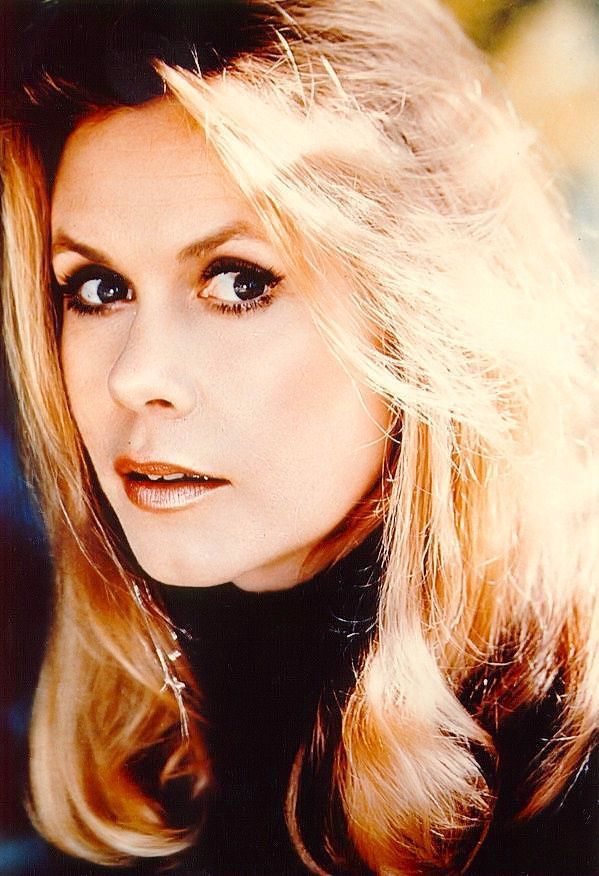 elizabeth montgomery, 1960s  My students used to think I looked like her dark haired witch sister!