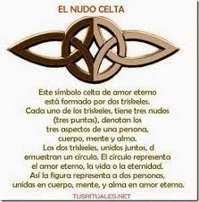 Resultado de imagen de antigua oracion celta para atraer la buena fortuna