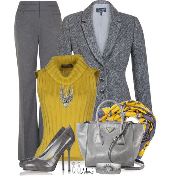 """""""Gray Fox"""" by myfavoritethings-mimi on Polyvore"""