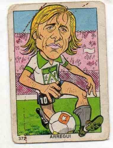 Carlos Arregui - Ferro Carril Oeste #372 1976