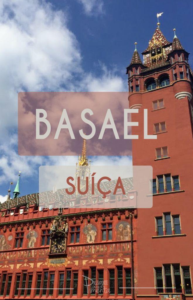 Basel é uma cidade viva, cortada pelo rio Reno e c…