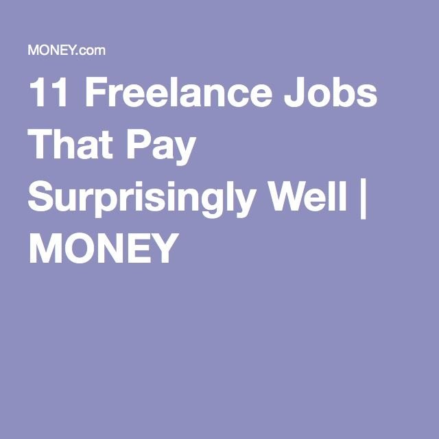 lance jobs that pay well