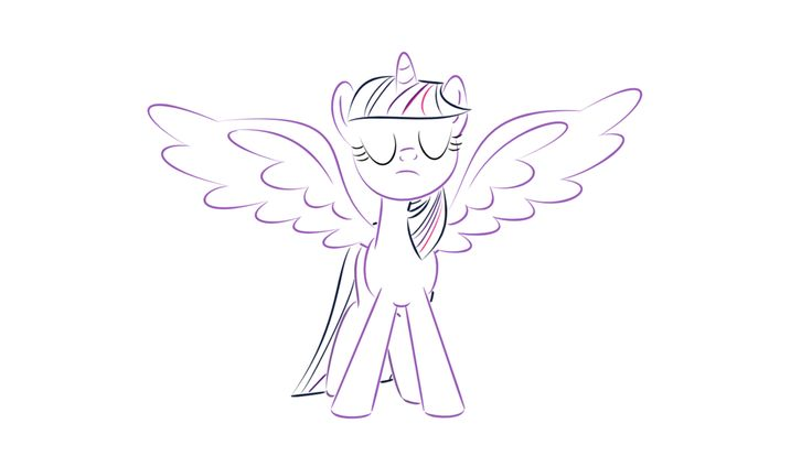 My Little Pony Alicorn Coloring Pages : Best images about color on pinterest rainbow dash