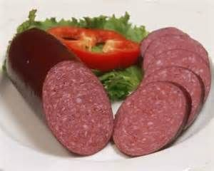Summer Sausage - yum!