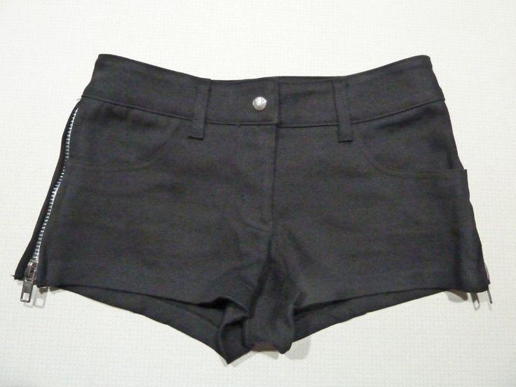 """LIP SERVICE Stretch F**k'n Twill """"Daisy Dukes"""" shorts #337"""
