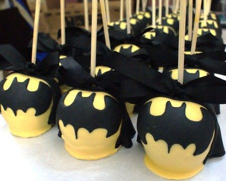 17 Best Ideas About Batman Cake Pops On Pinterest
