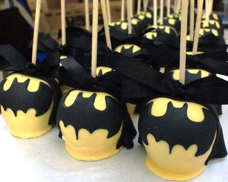 Maçã de Chocolate - Batman