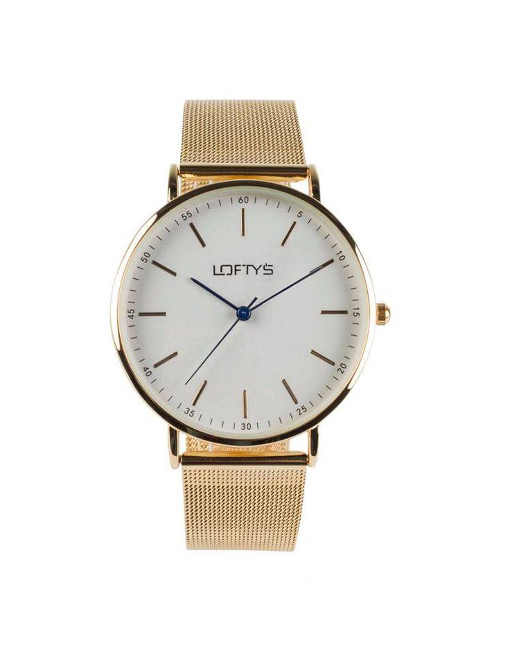Ladies Watch with Gold Metal Bracelet Y 2006GW - https://www.loftyswatches.com/shop/ladies-watch-gold-bracelet-y-2006gw/