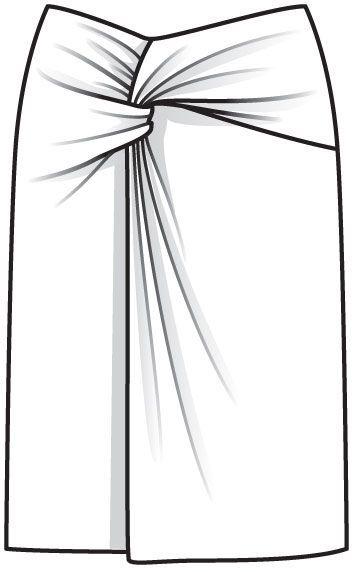 Burda 5/2013 110-prekrasna suknja ali samo za one bez šlaufa oko struka!