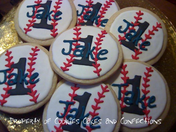 baseball theme for a boy first birthday   Baseball themed first birthday for a special little grandson!