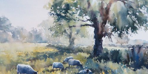 Tutorial Using W N Twilight Colours By Charles Evans Watercolor