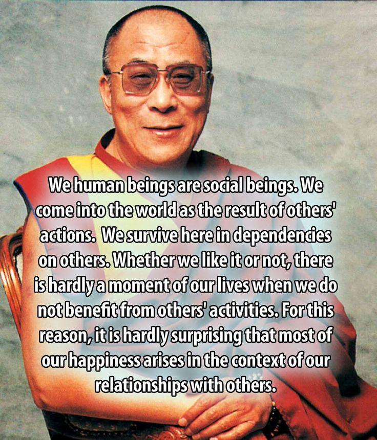 Dalai Lama On Relationships