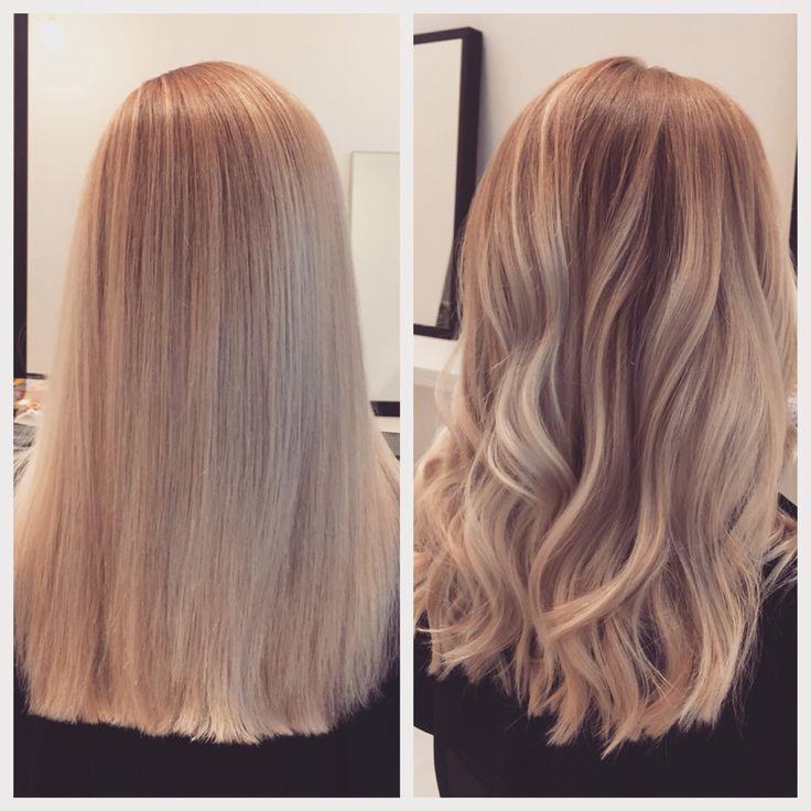 Balayage for blonde hair