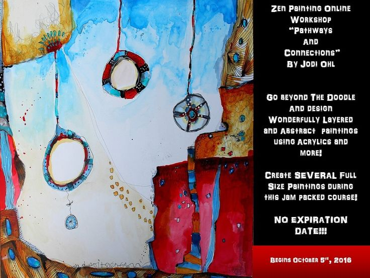 Zen Painting: Pathways and Connections - Jodi Ohl